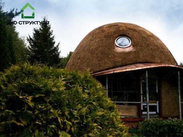 купол из тростника