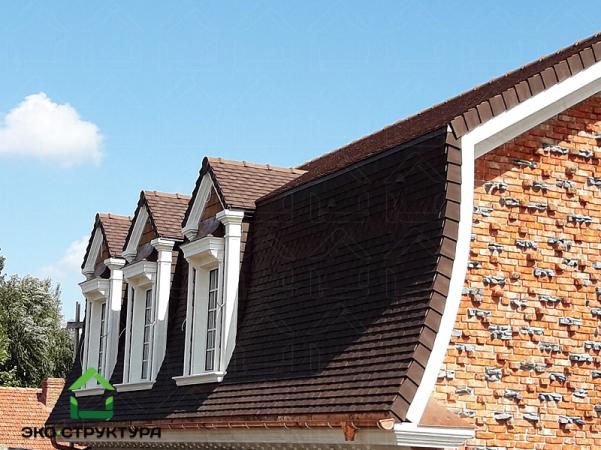 Крыша из черепицы TERREAL Rustique