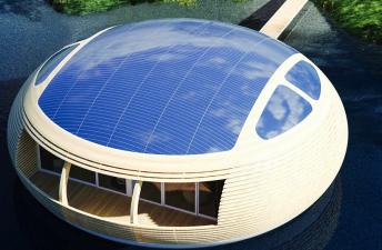 Крыша для зеленного дома