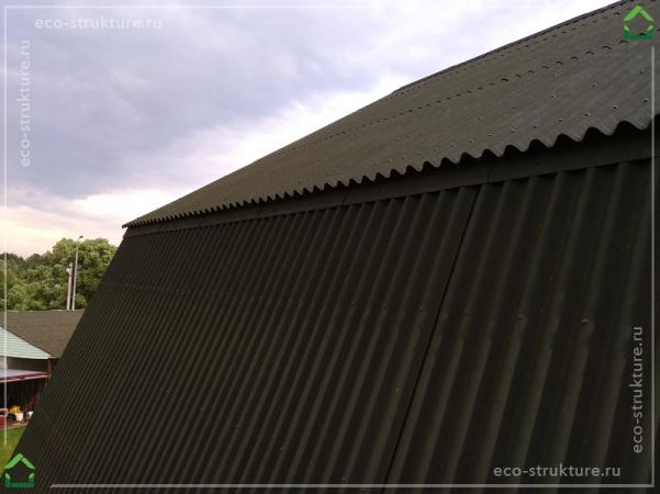 Ондулин на крыше