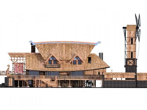 Проект архитектурного бюро Новая Р.А.С.А. Частный дом Ark.
