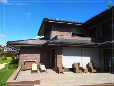 Ремонт керамической крыши