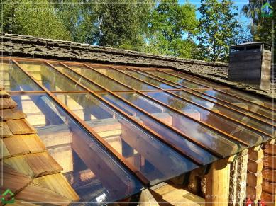 Чистота и порядок на крыше.