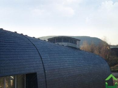 Фасад из сланца