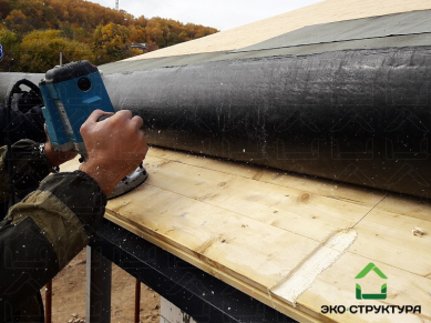 Подготовка к монтажу водосточной системы